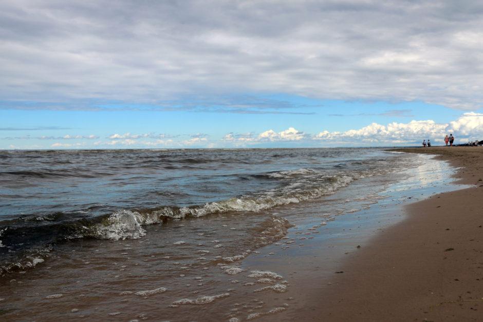 Besonders große Welle hatte es am Dienstag nicht.