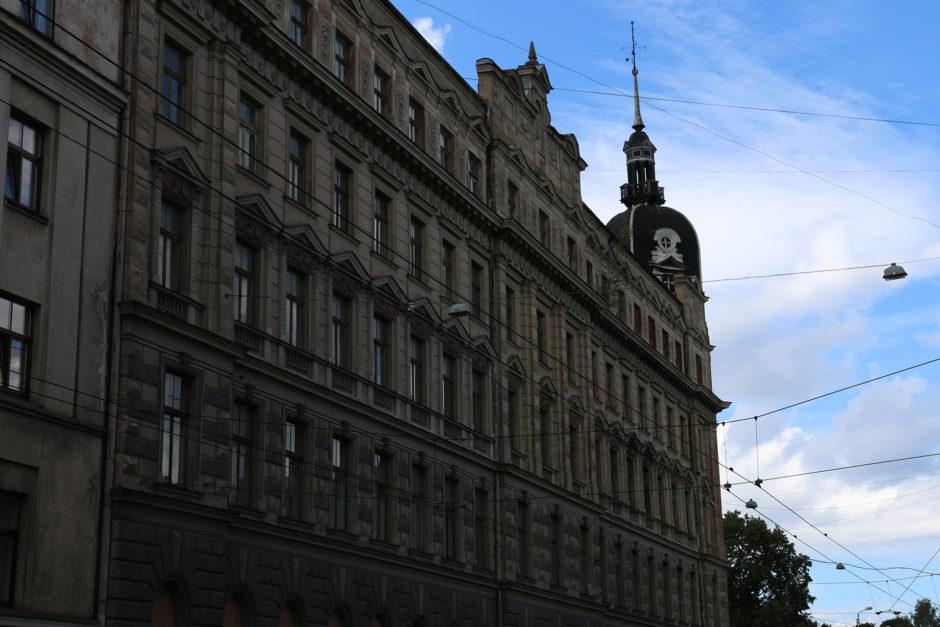 Häuser mit Fassaden wie dieser findet man unzählige in Riga.