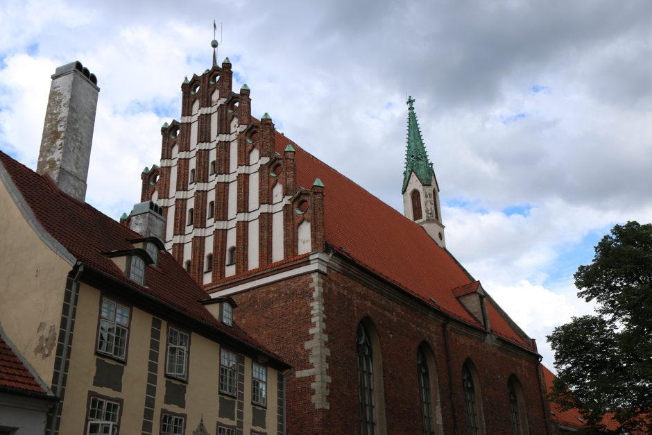 Die. St. Johanniskirche direkt im Zentrum der Stadt.