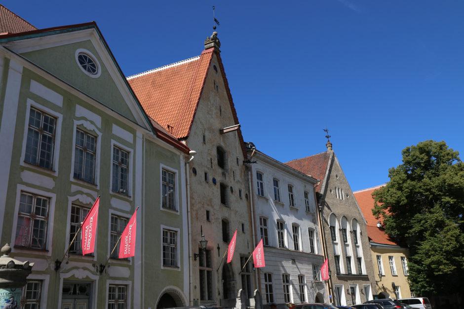 In Tallinns Altstadt lohnte es sich jede Straße und Gasse zu erkunden.