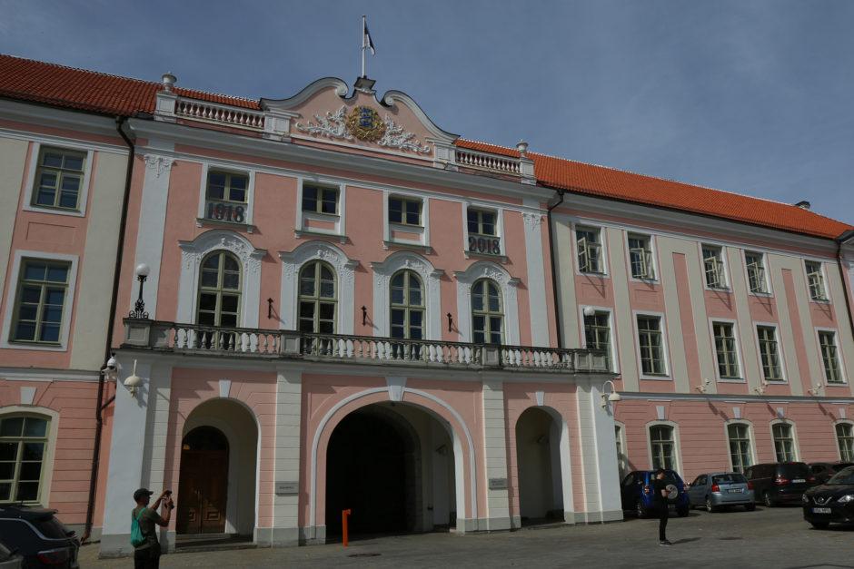 Der Parlamentspalast auf dem Domberg.