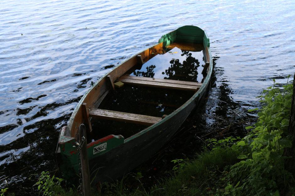 Mit diesem Boot sollte man vielleicht besser nicht mehr raus fahren.