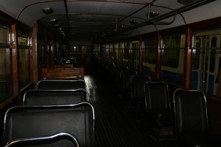 Alle Wagen konnten auch von innen besichtigt werden. Nur leider gab es kein Licht.
