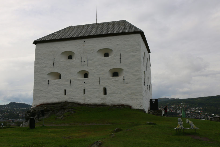 Die Festung von Trondheim.