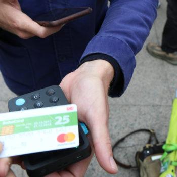 Kopenhagen 2018 - meiner allererste per Kreditkarte abgegebene Spende für eine FreeTour!