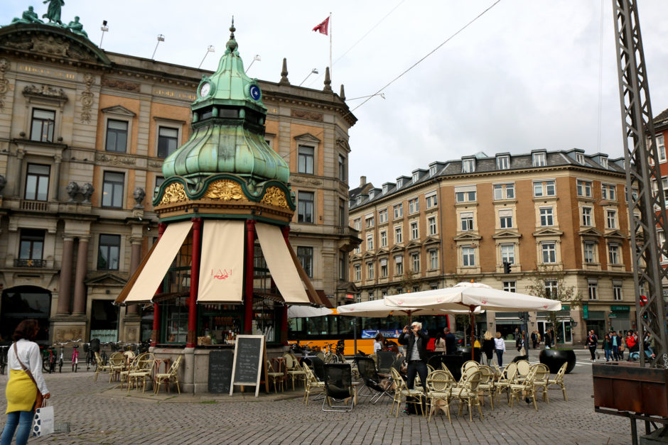 Ein prächtiger Kiosk in Kopenhagens Innenstadt.