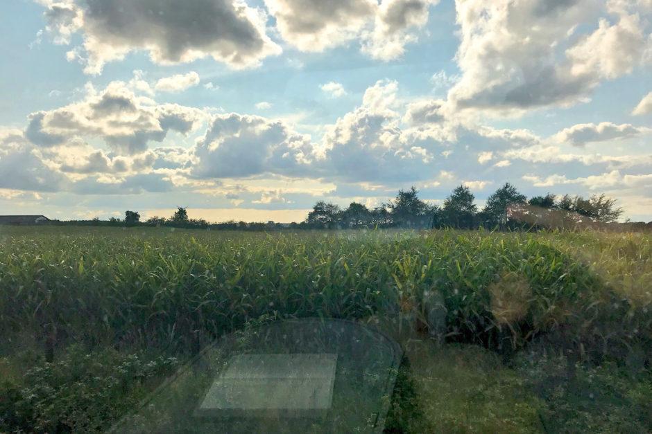 Deutschland empfing mich mit endlosen Maisfeldern und Funklöchern!