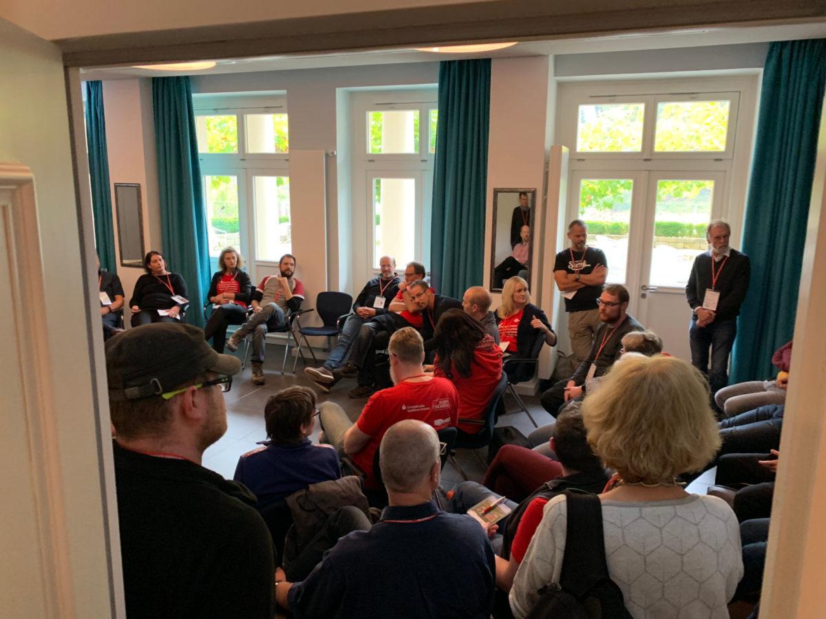 Eine der zahlreichen Sessions auf dem Fotocamp.