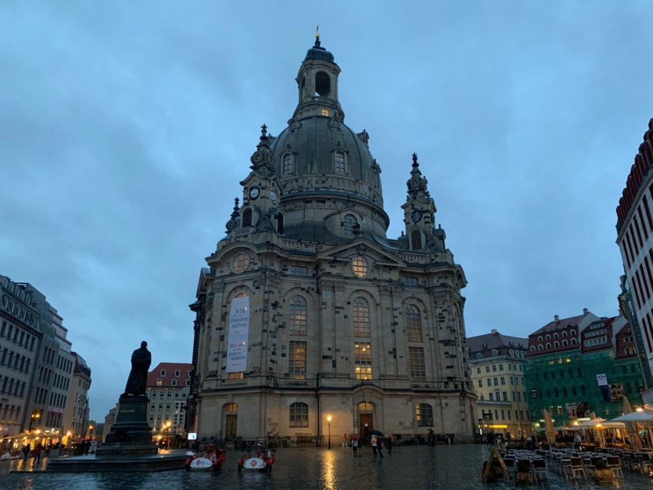 Trotz Regen habe ich noch kleine Runde durch die Dresdner Altstadt gedreht.