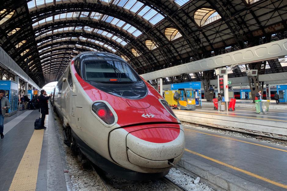 Nach der Ankunft in Milano Centrale ließ sich der ETR 610 besser fotografieren!