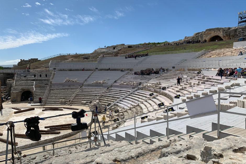 Seit dem 5. Jahrhundert vor Christus wurde in Siracusa Theater gespielt.