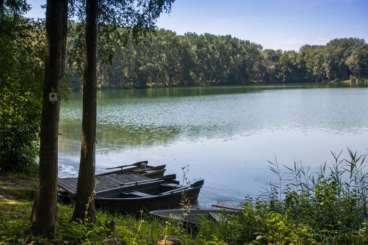 Am liebsten hätte ich mir ein Boot geschnappt, aber leider waren sie angekettet...
