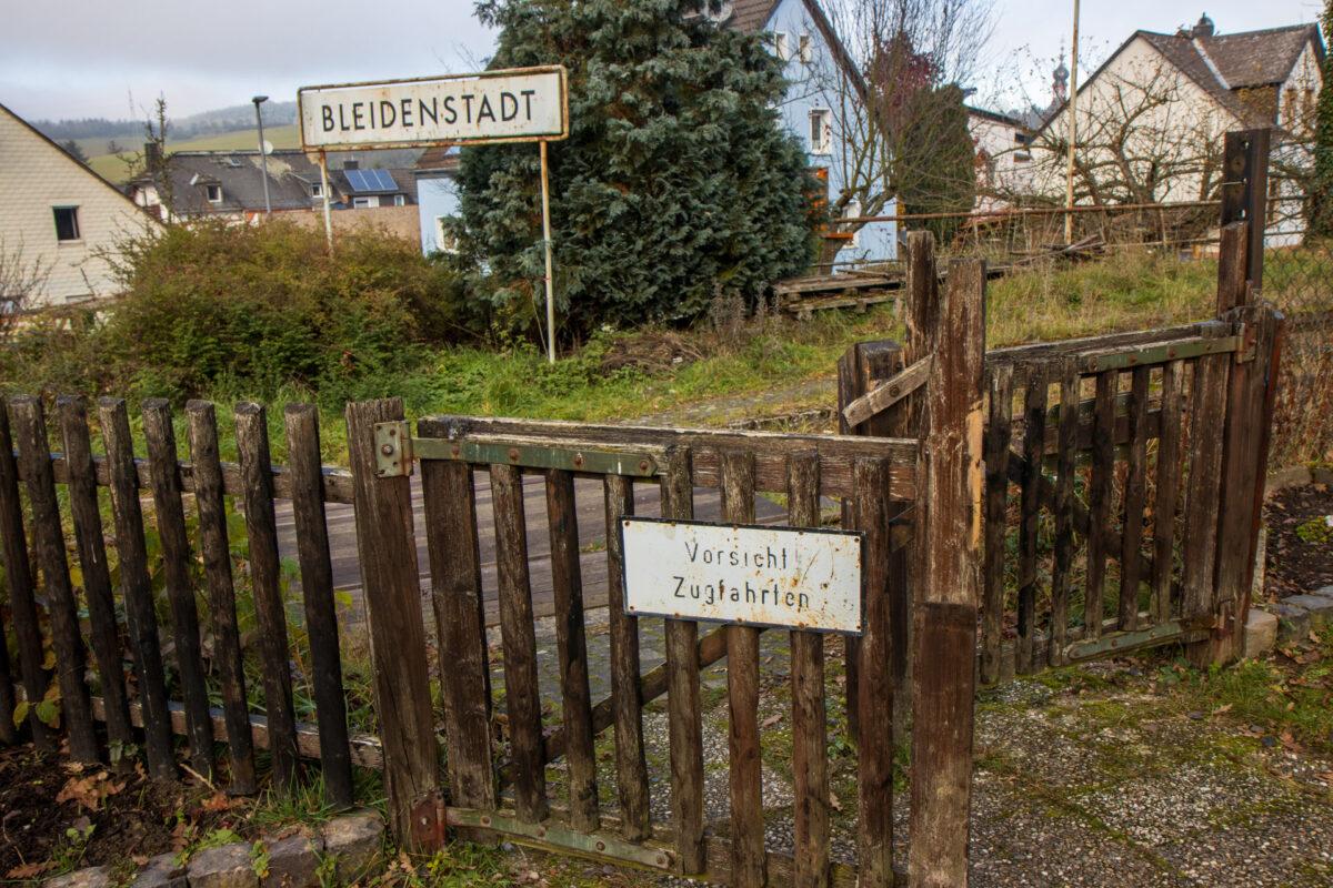 Es scheint, als sei am Bahnhof Bleidenstadt die Zeit stehen geblieben.