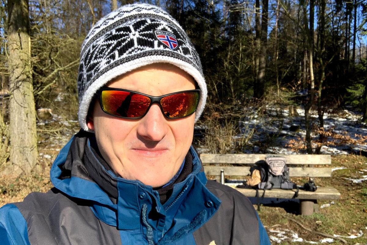 Man muss nur warm angezogen sein, dann steht einer 7-stündigen Wanderung im Winter nichts entgegen.