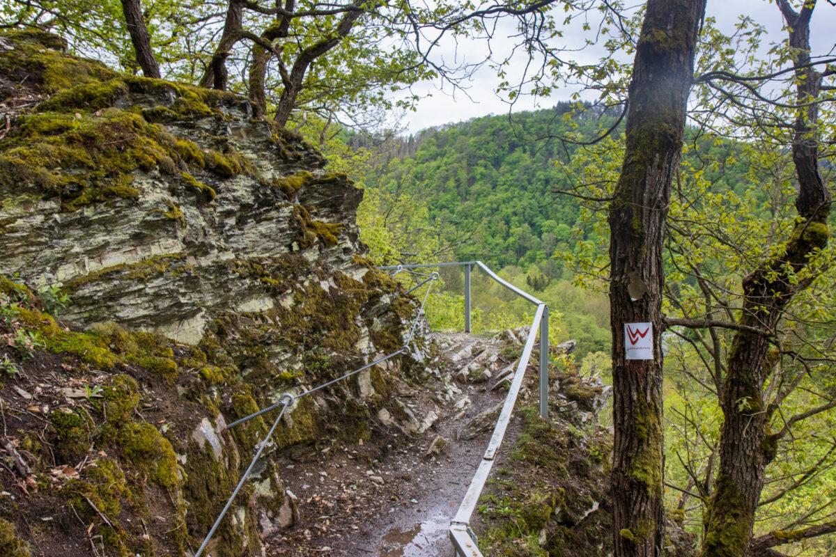 """Zum Beweis: der Lahnwanderweg hätte im unteren Lahntal wirklich den Zusatz """"Steig"""" verdient."""