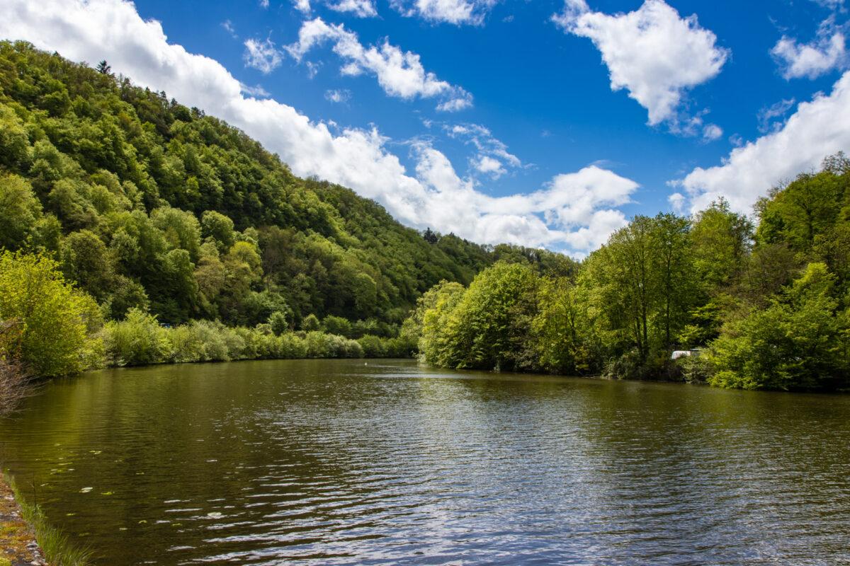 Beim nächsten Ausflug an die Lahn will ich hier mit dem Kanu entlang fahren.